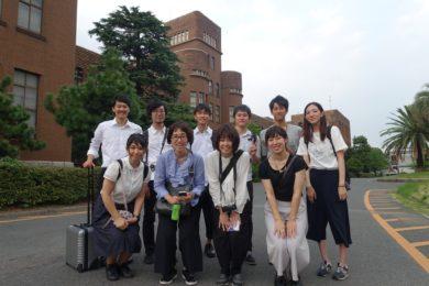 九州大学訪問記念に。